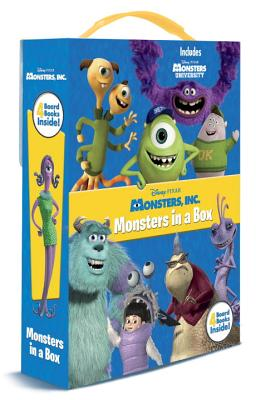 Monsters in a Box Friendship Box By Posner-Sanchez, Andrea/ RH Disney (COR)
